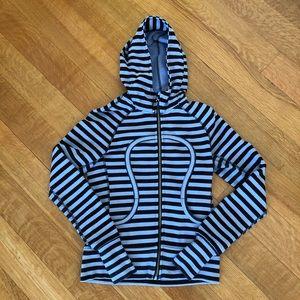Lululemon scuba hoodie with OM and namaste